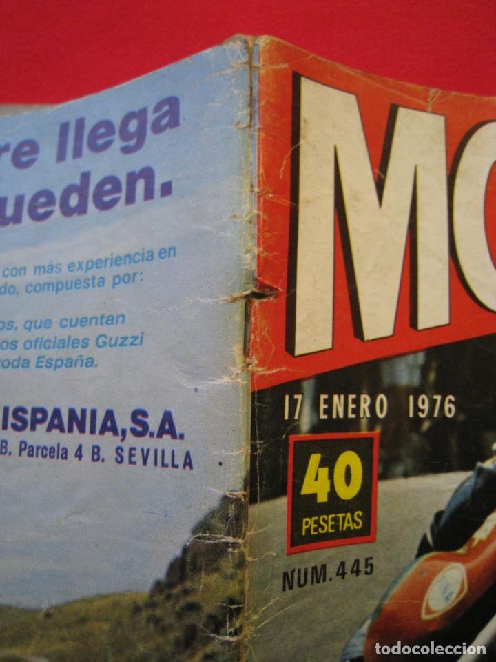 Coches y Motocicletas: REVISTA MOTOCICLISMO - Nº 445 - 17 ENERO 1976. - Foto 4 - 174257433