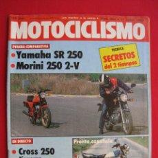 Coches y Motocicletas: REVISTA MOTOCICLISMO - Nº 804 - 11 JUNIO 1983.. Lote 174258525