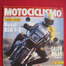 Coches y Motocicletas: REVISTA MOTOCICLISMO - Nº 830 - 10 DICIEMBRE 1983 - POSTER SITO PONS.. Lote 174264592
