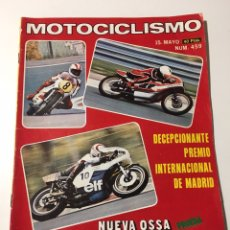 Coches y Motocicletas: ANTIGUA REVISTA MOTOCICLISMO 1976 NÚMERO 459. Lote 174376715