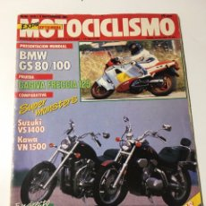 Coches y Motocicletas: ANTIGUA REVISTA MOTOCICLISMO 1987 NÚMERO 1019. Lote 174377342