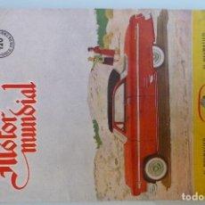 Coches y Motocicletas: ANTIGUA REVISTA-MOTOR MUNDIAL-Nº120 (AGOSTO 1954). Lote 174464530