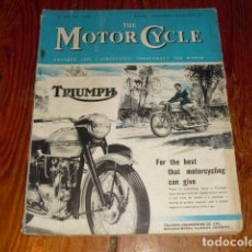 Coches y Motocicletas: THE MOTOR CYCLE - AÑO 1953 -. Lote 174540940