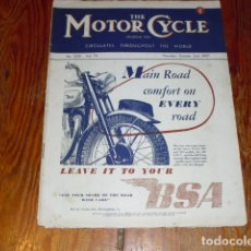 Coches y Motocicletas: THE MOTOR CYCLE - AÑO 1947 -. Lote 174671802