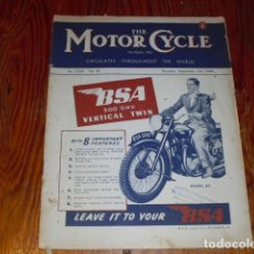 Coches y Motocicletas: THE MOTOR CYCLE - AÑO 1948 -. Lote 174982452