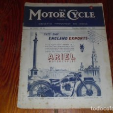 Coches y Motocicletas: THE MOTOR CYCLE - AÑO 1948 -. Lote 174984413