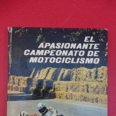 Coches y Motocicletas: EL APASIONANTE CAMPEONATO DE MOTOCICLISMO..1973-JAIME ARGESUARI...UNA JOYA..NIETO CAMPEON.... Lote 175060897