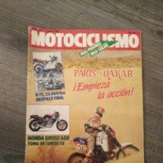 Coches y Motocicletas: REVISTA MOTOCICLISMO AÑO 1988 . Lote 175193083