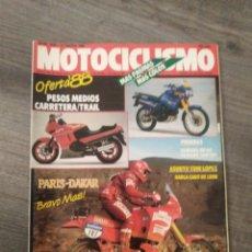 Coches y Motocicletas: REVISTA MOTOCICLISMO AÑO 1988 . Lote 175193189