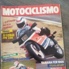 Coches y Motocicletas: REVISTA MOTOCICLISMO AÑO 1988 . Lote 175193267