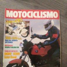 Coches y Motocicletas: REVISTA MOTOCICLISMO AÑO 1988 . Lote 175193357