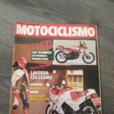 Coches y Motocicletas: REVISTA MOTOCICLISMO AÑO 1988 . Lote 175193423