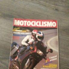 Coches y Motocicletas: REVISTA MOTOCICLISMO AÑO 1988 . Lote 175193458