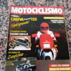 Coches y Motocicletas: REVISTA MOTOCICLISMO AÑO 1988 . Lote 175193643