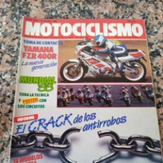 Coches y Motocicletas: REVISTA MOTOCICLISMO AÑO 1988 . Lote 175193672