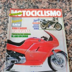 Coches y Motocicletas: REVISTA MOTOCICLISMO AÑO 1988 . Lote 175193688