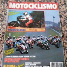 Coches y Motocicletas: REVISTA MOTOCICLISMO AÑO 1988 . Lote 175193735