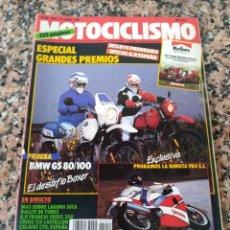 Coches y Motocicletas: REVISTA MOTOCICLISMO AÑO 1988 . Lote 175193757