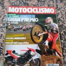 Coches y Motocicletas: REVISTA MOTOCICLISMO AÑO 1988 . Lote 175193789