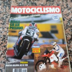 Coches y Motocicletas: REVISTA MOTOCICLISMO AÑO 1988 . Lote 175193818