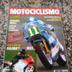 Coches y Motocicletas: REVISTA MOTOCICLISMO AÑO 1988 . Lote 175193843