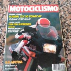 Coches y Motocicletas: REVISTA MOTOCICLISMO AÑO 1988 . Lote 175193987