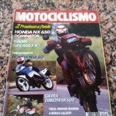 Coches y Motocicletas: REVISTA MOTOCICLISMO AÑO 1988 . Lote 175194028