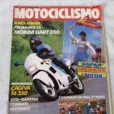 Coches y Motocicletas: REVISTA MOTOCICLISMO AÑO 1988 . Lote 175194539