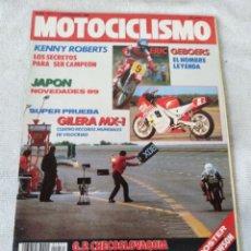 Coches y Motocicletas: REVISTA MOTOCICLISMO AÑO 1988 . Lote 175194568