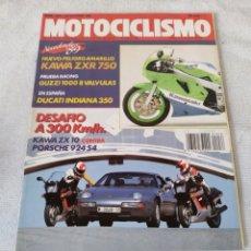 Coches y Motocicletas: REVISTA MOTOCICLISMO AÑO 1988 . Lote 175194789