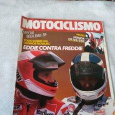 Coches y Motocicletas: REVISTA MOTOCICLISMO AÑO 1988. Lote 175195975