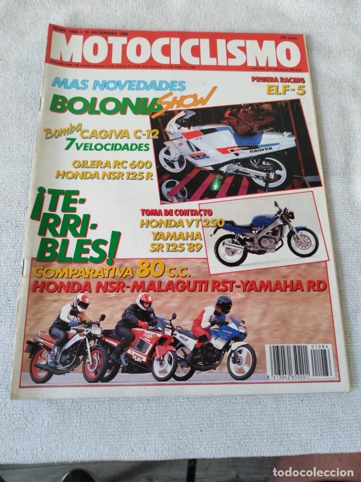 REVISTA MOTOCICLISMO AÑO 1988 (Coches y Motocicletas - Revistas de Motos y Motocicletas)
