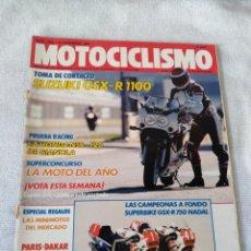 Coches y Motocicletas: REVISTA MOTOCICLISMO AÑO 1988. Lote 175196128