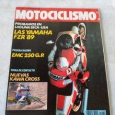 Coches y Motocicletas: REVISTA MOTOCICLISMO AÑO 1988. Lote 175196270
