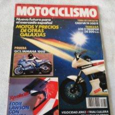 Coches y Motocicletas: REVISTA MOTOCICLISMO AÑO 1988. Lote 175196308