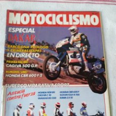Coches y Motocicletas: REVISTA MOTOCICLISMO AÑO 1989. Lote 175196700