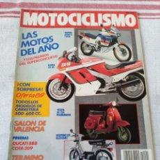 Coches y Motocicletas: REVISTA MOTOCICLISMO AÑO 1989. Lote 175196780