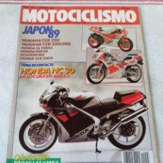 Coches y Motocicletas: REVISTA MOTOCICLISMO AÑO 1989. Lote 175196847