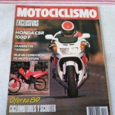 Coches y Motocicletas: REVISTA MOTOCICLISMO AÑO 1989. Lote 175197404