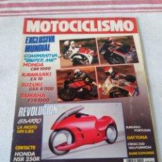 Coches y Motocicletas: REVISTA MOTOCICLISMO AÑO 1989. Lote 175197488