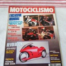 Coches y Motocicletas: REVISTA MOTOCICLISMO AÑO 1989. Lote 175197545