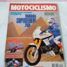 Coches y Motocicletas: REVISTA MOTOCICLISMO AÑO 1989. Lote 175197573