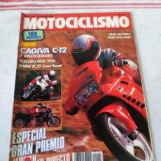 Coches y Motocicletas: REVISTA MOTOCICLISMO AÑO 1989. Lote 175197605