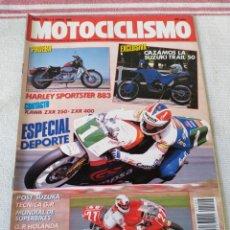 Coches y Motocicletas: REVISTA MOTOCICLISMO AÑO 1989. Lote 175197619