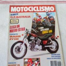 Coches y Motocicletas: REVISTA MOTOCICLISMO AÑO 1989. Lote 175197649
