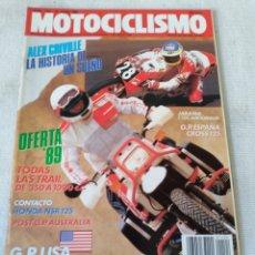 Coches y Motocicletas: REVISTA MOTOCICLISMO AÑO 1989. Lote 175197670