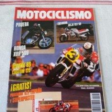 Coches y Motocicletas: REVISTA MOTOCICLISMO AÑO 1989. Lote 175197698