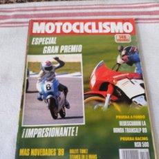 Coches y Motocicletas: REVISTA MOTOCICLISMO AÑO 1989. Lote 175197753
