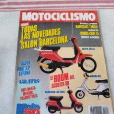 Coches y Motocicletas: REVISTA MOTOCICLISMO AÑO 1989. Lote 175197769