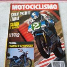 Coches y Motocicletas: REVISTA MOTOCICLISMO AÑO 1989. Lote 175197797